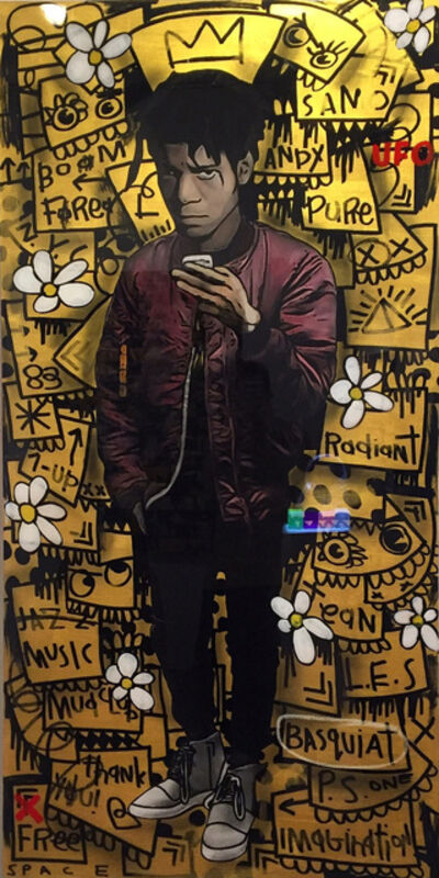 The Producer BDB, 'Basquiat - Gold', 2016