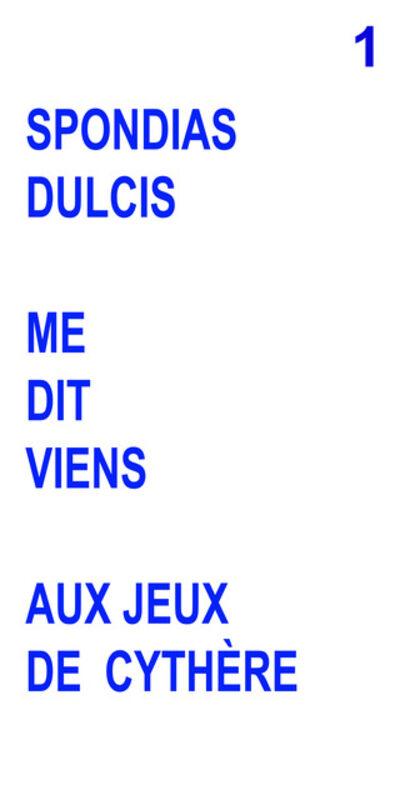 EGGS & BITSCHIN Francine Eggs & Andreas Bitschin, 'Dans Le Sillage De Watteau (Tryptichon)', 2021