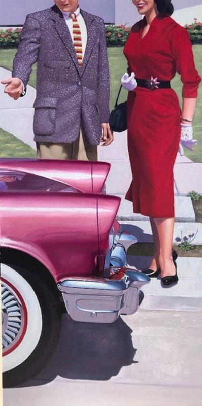 """Geoffrey Gersten, '""""Mr. & Mrs. Jones""""', 2019"""