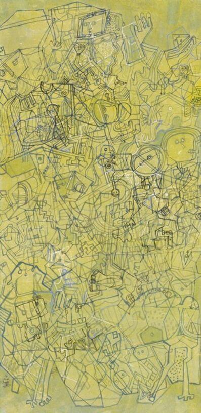 Yuan Wu Zheng  郑元无, 'Composition in Green No.1', 2017
