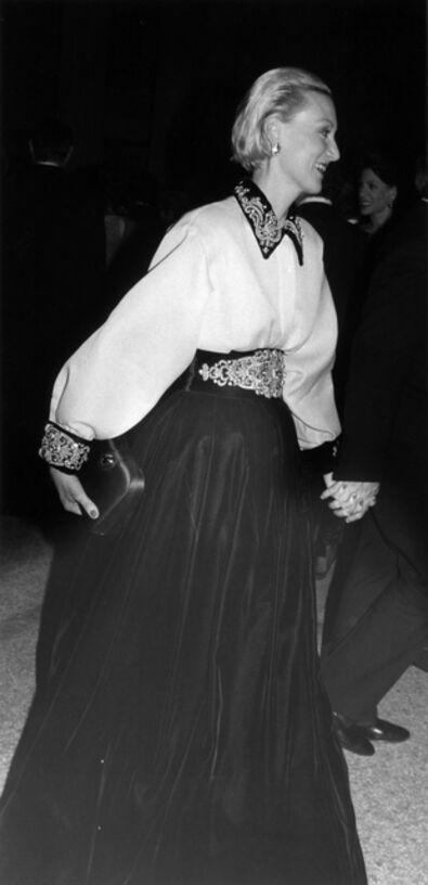 Bill Cunningham, 'Meryl Streep, Met Gala', 1988