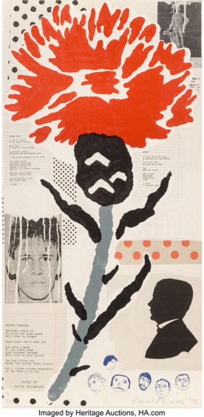 Donald Baechler, 'Thistle', 1999