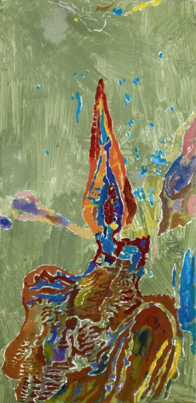 Max Weiler, 'Bildnis des Herrn Kerzenflamme', 1970