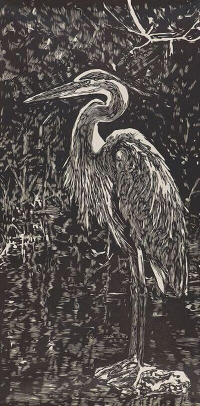 Jennifer Basile, 'Stanley the Great Blue Heron', 2018