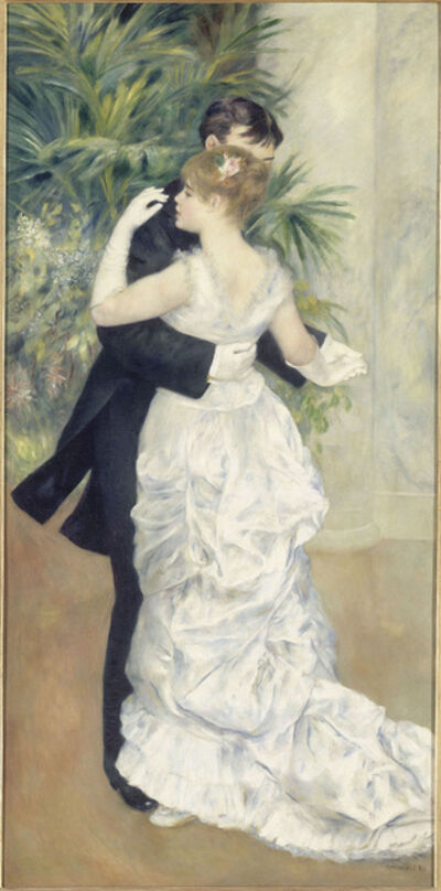 Pierre-Auguste Renoir, 'Dance in the City', 1883