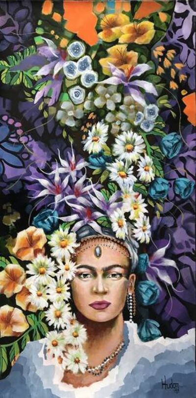 Jean Jacques Hudon, 'Frida in the Garden', 2018