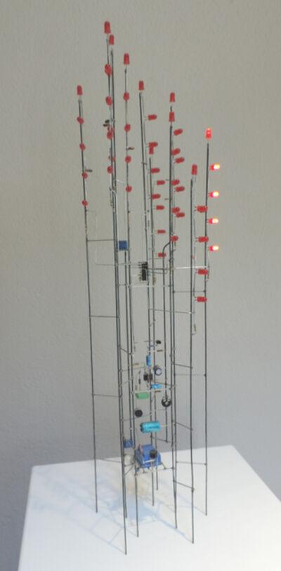 Peter Vogel, 'Rote Lichtreaktionen', 2005