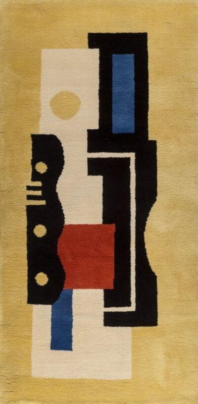 After Fernand Léger, 'Jaune IX Carpet', 1949–1962