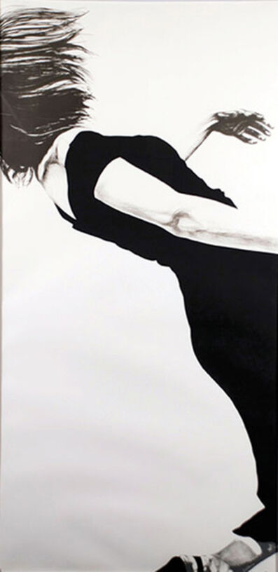 Robert Longo, 'Joanna, from the Men in the Cities series', 1983