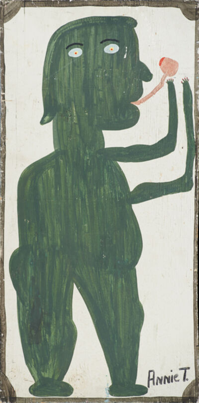 Annie Tolliver, 'Voo Doo Man Smoking His Pipe'