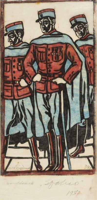 Lill Tschudi, 'Spahis (Coppel LT 3) ', 1930