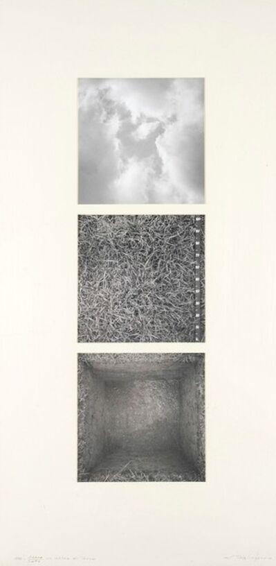 Aldo Tagliaferro, 'Sopra sotto un metro di terra', 1990