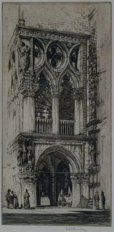 Louis Conrad Rosenberg, 'Doge's Palace, Venice', ca. 1920