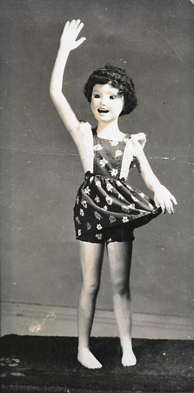 Morton Bartlett, 'Waving Girl in Pinafore', ca. 1950