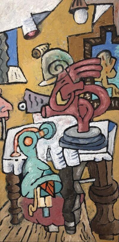 David Elliott, 'Table, Maquette, Nose'
