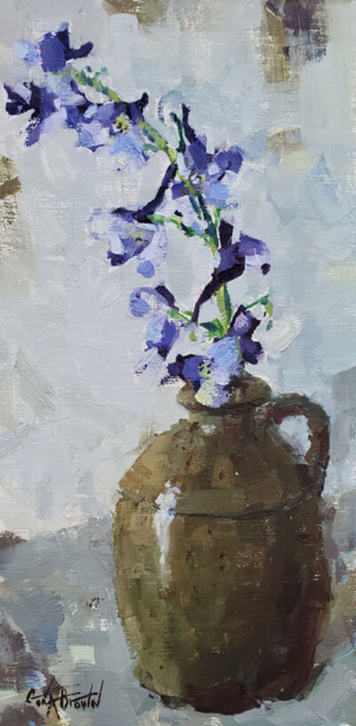 Gina Brown, 'Delphinium', 2019