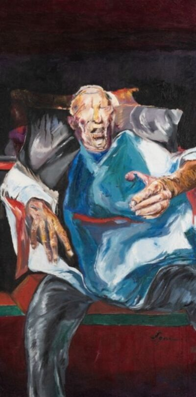 Egas Francisco, 'O Cego na Cadeira', 2019