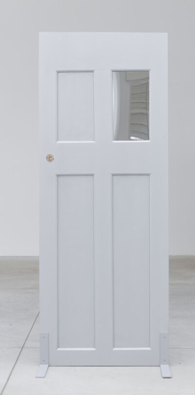 Tom Burr, 'Single Silver Door (three)', 2014