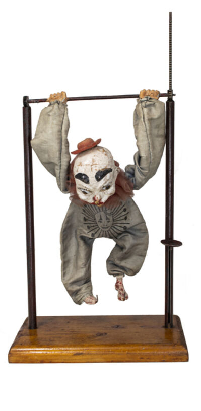 Folk Art 19th/20th Century, 'Circus Gymnast', 19th Century