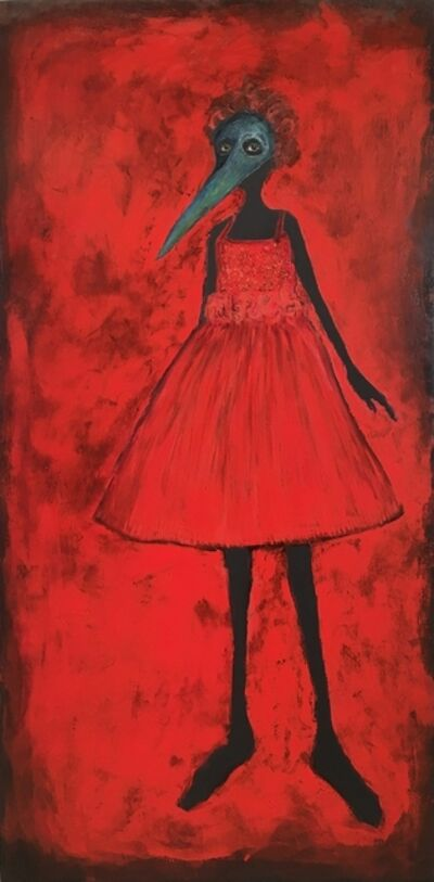 "Holly Wilson, '""Girl in the Red Dress""', 2019"