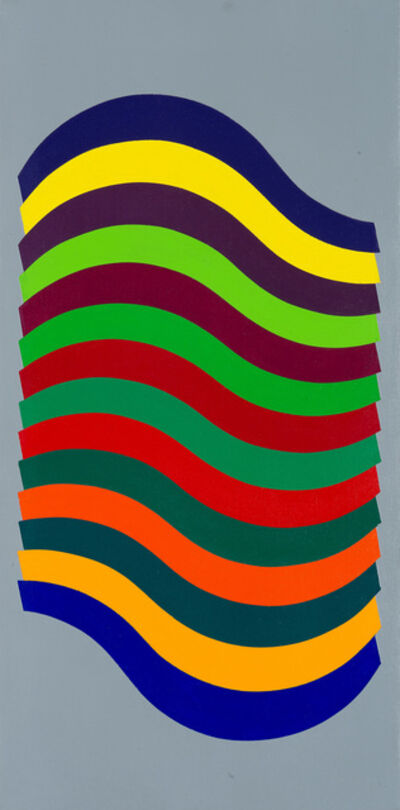 """Julio Le Parc, '""""Ondes 120""""', 1972"""