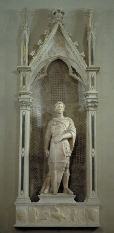 Donatello, 'St. George Tabernacle', ca. 1415-17