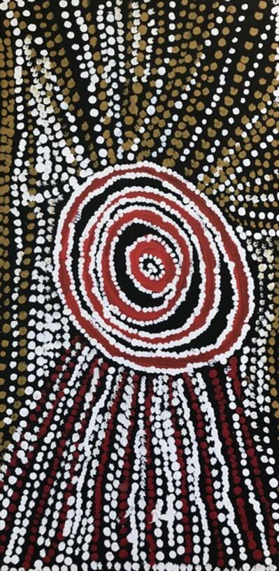 Bill Whiskey Tjapaltjarri, 'Rockholes Near the Olgas (cat: NABWT_RNO10-070010PAG)', 2007