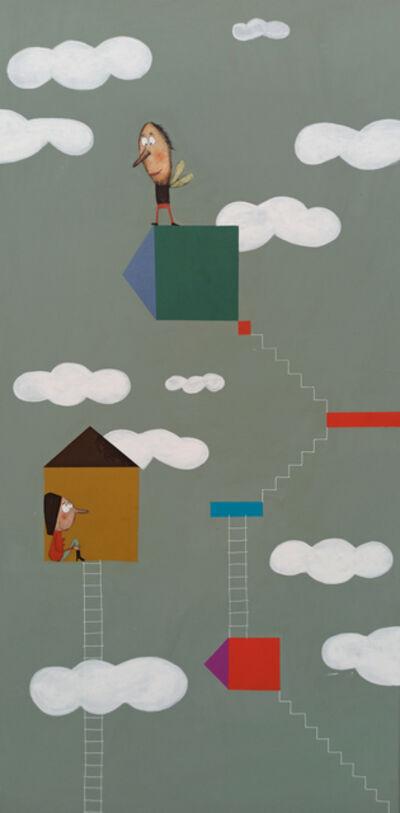 Moisés Yagües, 'Amor de escalera', 2021