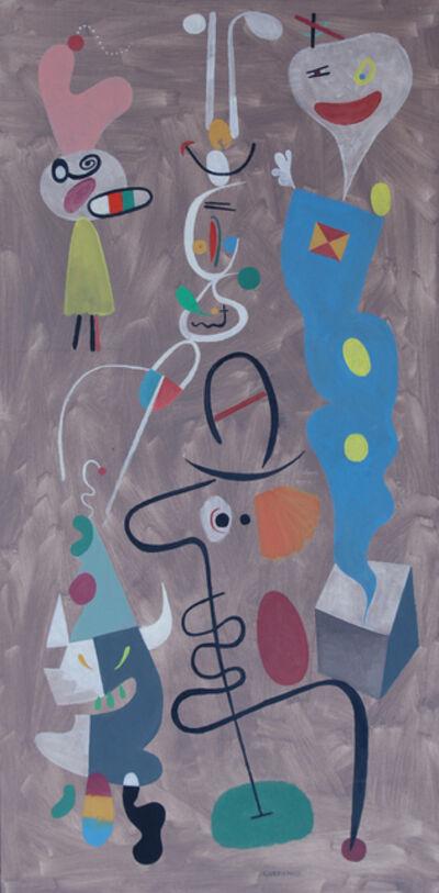 George Gordienko, 'A Minotaur Streaks Though the Big Top', 1995