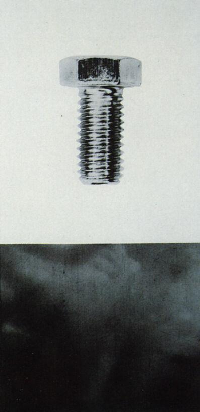 John Baldessari, 'Bolt', 1987