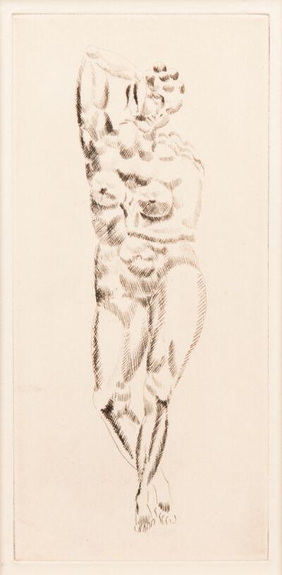 Elie Nadelman, 'Female Nude', 1920