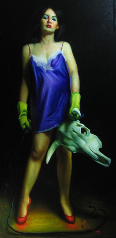 Rose Freymuth-Frazier, 'Woman Fighting Bull', 2007