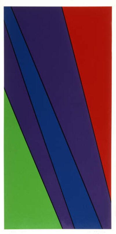Olle Baertling, 'ayarua', 1972-1979