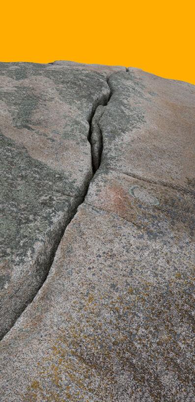 John Ruppert, 'Granite Fissure I Yellow / Lawrys Island', 2013-2015