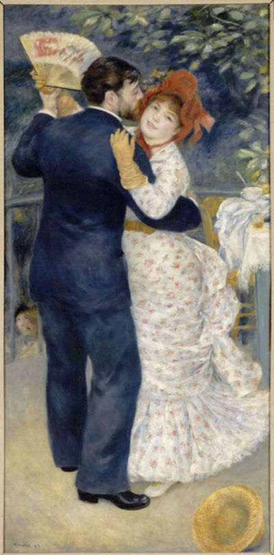 Pierre-Auguste Renoir, 'Dance in the Country', 1883