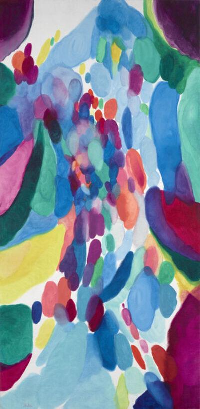 Alice Baber, 'Blue Flotilla', 1956