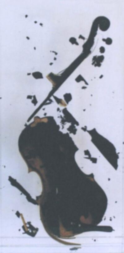 Arman, 'Untitled (burned violin)', 1979