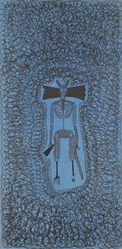"""Alfred Klinkan, '""""Doud""""', 1972"""