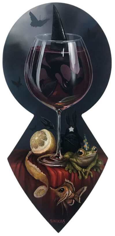Greg 'Craola' Simkins, 'The Last Glass', 2019