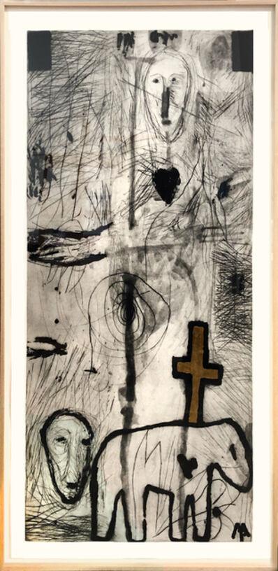 Mimmo Paladino, 'Poeta Occidentale ', 1986