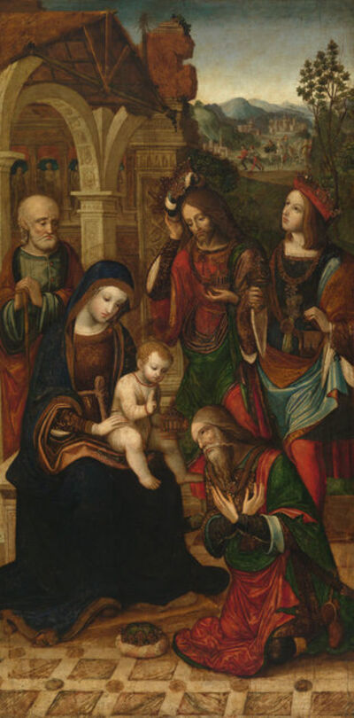 Master of the Glasgow Adoration, 'Adoration of the Magi', ca. 1508