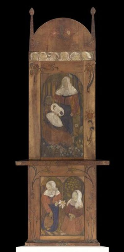 Émile Bernard, 'Corner Cabinet with Breton Scenes', 1891-1892