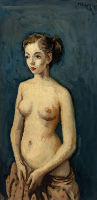 Moses Soyer, 'Young Model'