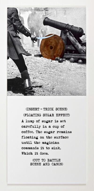 John Baldessari, 'Scene ( ) / Take ( ) : A lump of sugar', 2014