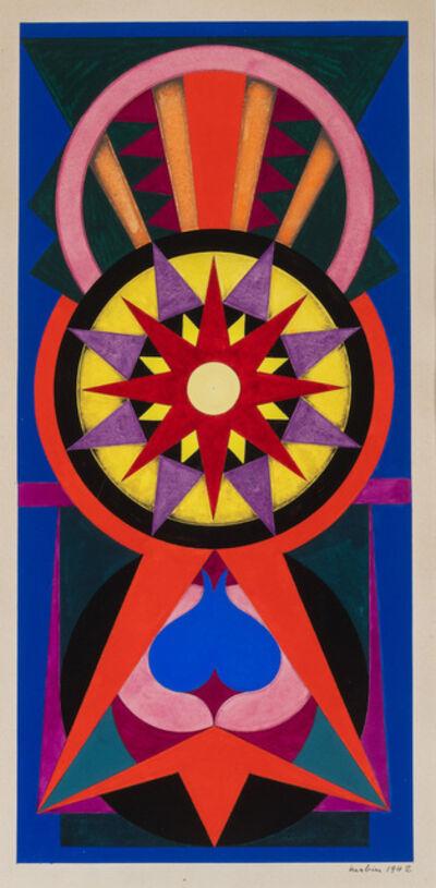 Auguste Herbin, 'Composition sous le nom Canguilhem', 1942