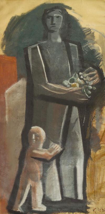 Mario Sironi, 'Madre con bambino', ca. 1936-37