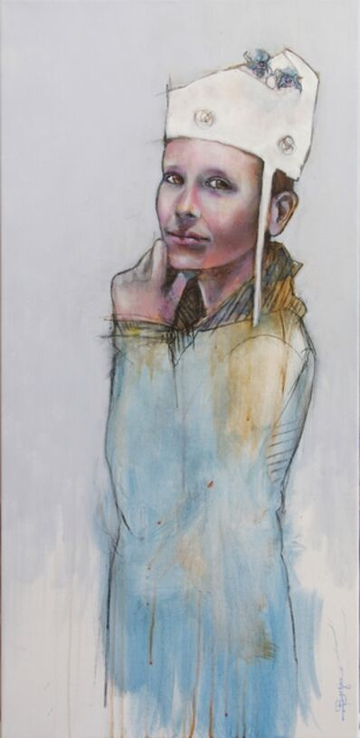 Laurent Bergues, 'Promeneur de nid, Tom', 2017