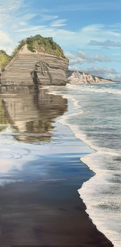Phil Hanson, 'Taranaki Coastal Reflections', 2021