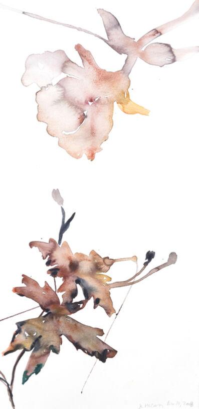 Kim McCarty, 'Untitled (purple leaves)', 2008