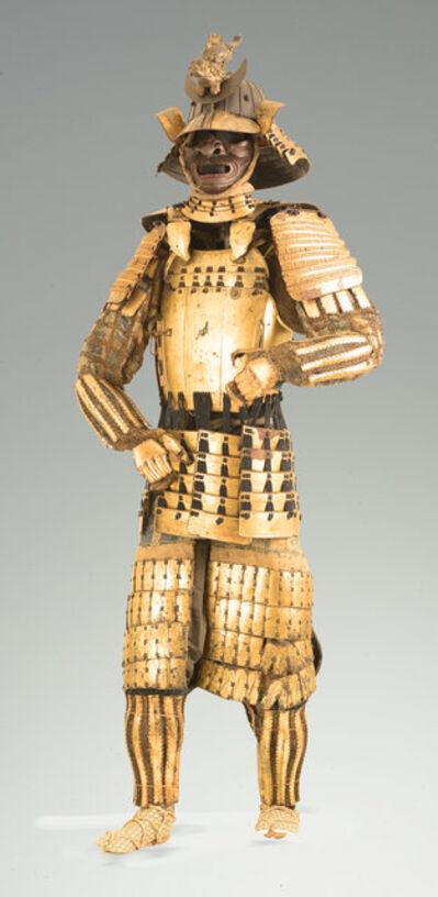 Katchu Shi, 'Gold Samurai Armor, Date Clan of Sendai', c. 1800